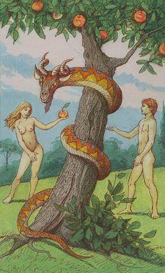 XV. The Devil: Lenormand Tarot