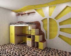 Sunny nursery idea