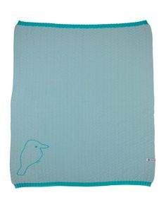 A lightweight receiving blanket, perfect for protecting your little one from the sun and providing light cover