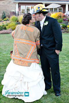 Firefighter Photography | Firefighter Wedding » Jasmine Photography