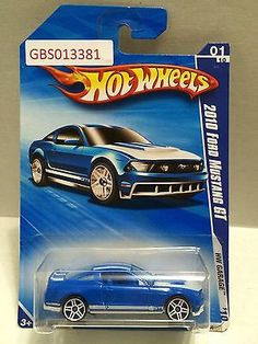 (TAS030923) - Hot Wheels '10 Ford Mustang GT HW Garage 01/10