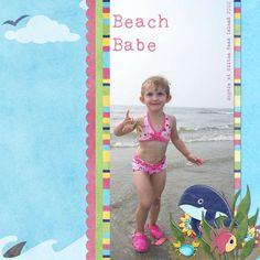 Scrapbooking Ideas - Beach