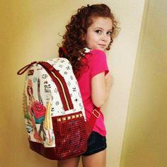 ".@nicoleleeusa I  my new Nicole Lee ""shopping girl"" backback! #firstdayofschool #thankyou #iloveit #DogwithaBlog #dwab"