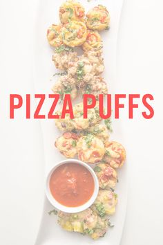 Go-To Holiday Party Appetizer: Pizza Puffs