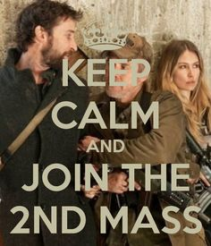"Keep Calm from the TV Show ""Falling Skies""."