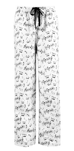 Leisureland Women's Cotton Flannel Music Notes Sleep Pants at Amazon Women's Clothing store: Pajama Bottoms http://www.amazon.com/Leisureland-Womens-Cotton-Flannel-Music/dp/B00FITPQVG/ref=cts_ap_2_fbt $17