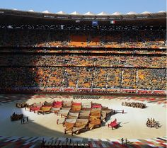 Opening Ceremony of the 2010 FIFA World Cup in South Africa