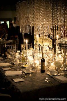Platinum Touch Events: {Decor Ideas} Chandeliers