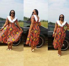 Lovely Ankara Styles for Curvy Women - Sisi Couture African Attire, African Wear, African Women, African Dress, African Print Fashion, African Fashion Dresses, Fashion Prints, Fashion Design, South African Design