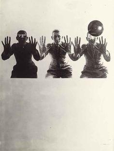 LÁSZLÓ MOHOLY-NAGY (1895-1946) The Transformation/Anxiety Dream, Fotoplastik, 1925