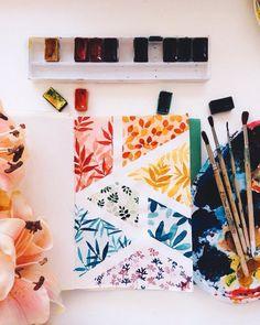 art inspiration Art 'Floral Caleidoscope' Photographic Print by Eugenia Kazak Plant Drawing, Painting & Drawing, Drawing Flowers, Gouache Painting, Baby Drawing, Nature Drawing, Art Nature, Drawing Drawing, Nature Plants