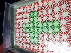 Peppermint Candy Serving Tray