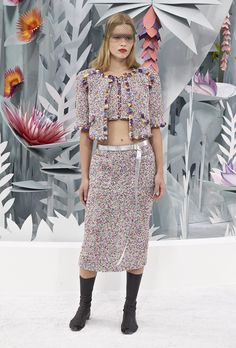 Runway Report: Chanel Haute Couture SS15 | Fashion Magazine | News. Fashion. Beauty. Music. | oystermag.com