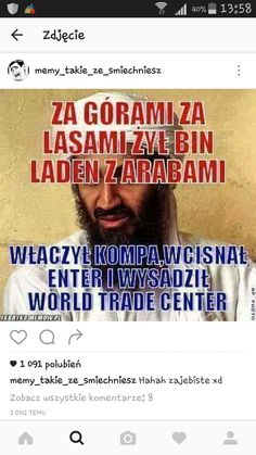 Memes Humor, Man Humor, Wtf Funny, Funny Jokes, Trade Center, Polish Memes, Some Quotes, I Don T Know, Funny Stories