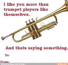marching band valentines day cards