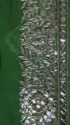 #Craft #India #Embroidery #saree #gotawork