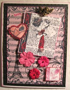 Romantic Handmade Vintage Inspired by Beadlady5CardDesigns on Etsy, $4.25