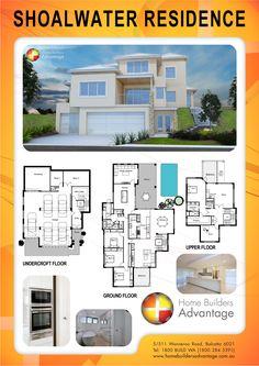 Home Builders Advantage- Perth's Biggest Building Broker- Three Storey Designs- www.homebuildersadvantage.com.au