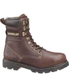 90029 Caterpillar Men's Gunnison Safety Boots - Dark Beige | BAD ASS |  Pinterest | Dark beige and Safety