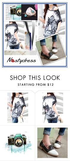 """""""Nastydress 9"""" by damira-dlxv ❤ liked on Polyvore featuring moda ve Cannella"""