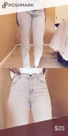 High waisted jeans High rise Light denim jeans Forever 21 Jeans Skinny