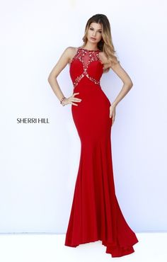 576072ba9b2 Sherri Hill has a range of beautiful prom dresses to fit your style