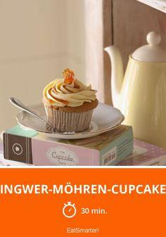 Ingwer-Möhren-Cupcake - smarter - Zeit: 30 Min.   eatsmarter.de