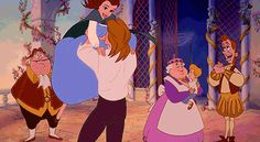 gifs beauty and the beast - Buscar con Google