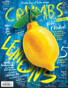 Crumbs (UK) / magazine cover / editorial design / magazine design / lay-out Poster Design, Menu Design, Food Design, Layout Design, Print Design, Ui Design, Catalogue Design, Editorial Layout, Editorial Design