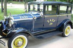 1929 Ford Taxi Model A, cute
