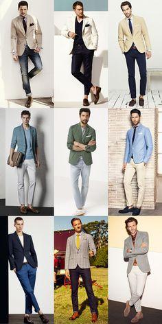 För män Sommar Separerar - Outfit Inspiration Lookbook