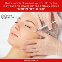 Mesotherapy Treatment in Dubai, Abu Dhabi & Sharjah is all about the skin- to rejuvenate it, to treat cellulite, fat reduction and to cure hair loss. Laser Skin Care, Botox Injections, Medical Spa, Skin Care Treatments, Cellulite, Glowing Skin, Good Skin, Beauty Hacks, Beauty Tips