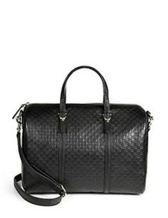 GUCCI Gucci Nice Microguccissima Leather Boston Bag