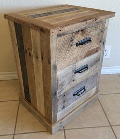 Pallet Board Night Stands