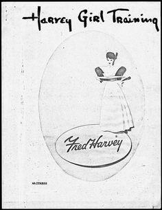 Fred Harvey Waitress Manual