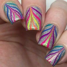 Pure Color 7 Watermarble tool from WhatsUpNails.com @whatsupnails