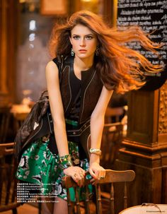 O estilo hippie chic no editorial janeiro 2015 da Harper's Bazaar China  stylo urbano-2