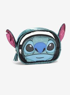 561a0231d46a Disney Lilo   Stitch Figural Cosmetic Bag Set - BoxLunch Exclusive