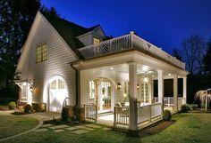 Vineyard guest house. CogitateDesign, Raleigh, NC.