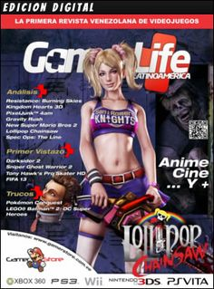 Ediciones de la #Revista de #VideoJuegos GamerLifeLA.com