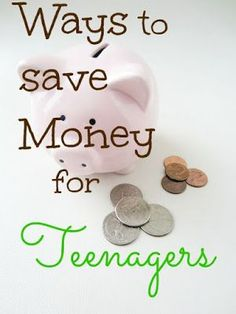 Ways to #Save #Money for Teenagers - tips on how to save money for teens http://www.make-happymoney.com/2015/08/ways-to-save-money-for-teenagers.html