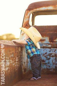 Pint~sized cowboy