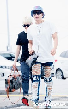 [HD포토] 투피엠(2PM) 준케이 과감한 허벅지 노출 #topstarnews