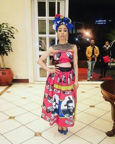 African Wedding Attire, African Attire, African Dress, Beautiful South African Women, Traditional Dresses, Traditional Wedding, African Culture, Fashion Prints, African Fashion