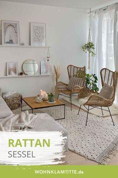 Der Rattan-Sessel hat sein Pool-Image aus Florida abgelegt und gibt seit ein paar Saisons unseren Wohnungen den ultimativen Boho-Vibe. Wie Du die Boho-Sessel richtig stylen und in Dein Zuhause integrieren kannst, verrate ich Dir in diesem Beitrag.