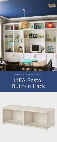 Built In Shelves Living Room, Bookshelves In Bedroom, Ikea Bookcase, Built In Bookcase, Bookcases, Ikea Living Room, Formal Living Rooms, Dining Room, Ikea Fireplace