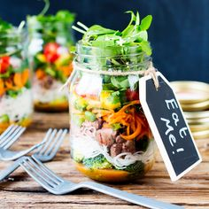 Your Next Lunch Needs This Thai Salad in a Jar