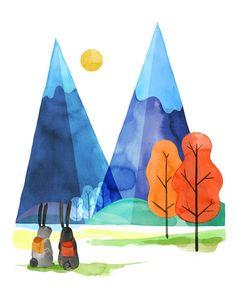 Mountain Magic - Bunny Hike Adventure