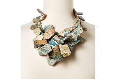 Jade Jasper Chunky Necklace by NEST
