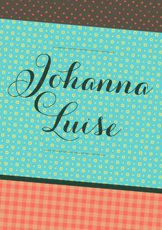 Vintage-Love by www.maloulou.ch Wunderschöne massgeschneiderte Geburtskärtchen zu fairen Preisen. Super! Vintage Love, Super, Shops, Birth, Cards, Nice Asses, Tents, Retail, Retail Stores